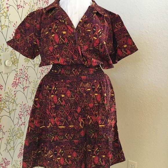 Dresses & Skirts - Short print dress